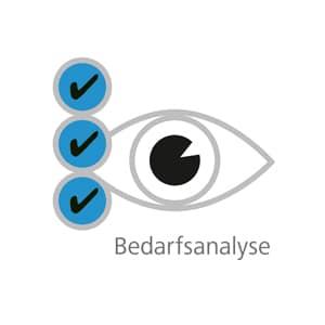 Bedarfsanalyse für gutes Sehen