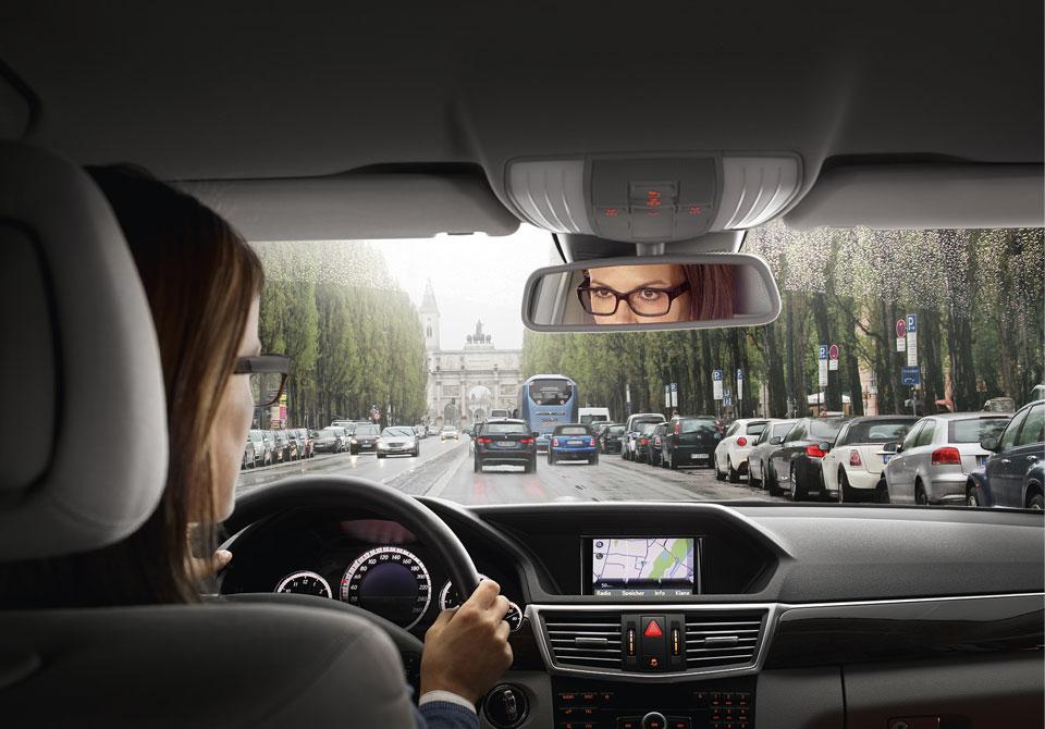Klare Sicht beim Autofahren